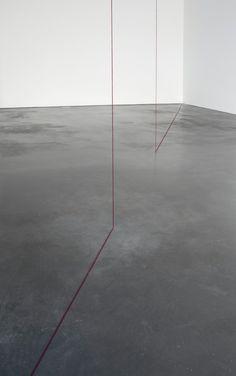 Untitled | Fred Sandback, Untitled (1976)