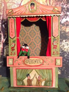Wonderful Puppet theater. MINIATURES and Co