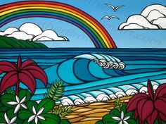 North Shore Rainbow - Heather Brown