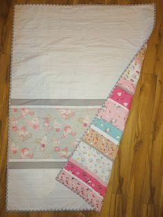 Reverse of Kitty Quilt
