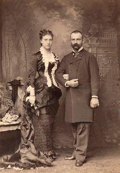 Thomas Duke of Genoa and fiance Princess Isabella of Bavaria
