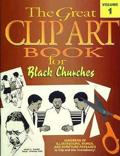 Black Church Clip Art | African American religious clipart of old ...