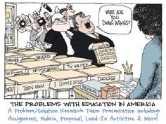 Education in America: Problem/Solution