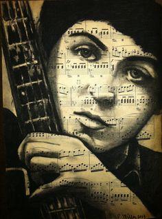 ☆ Paul McCartney :¦: Artist Rebecca Miller ☆