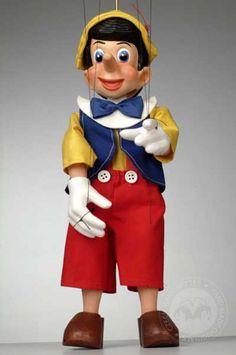 foto: Pinocchio Cartoon Puppet
