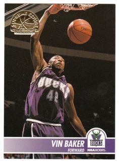 Vin Baker # SC 25 - 1994-95 Skybox Hoops Basketball Supreme Court
