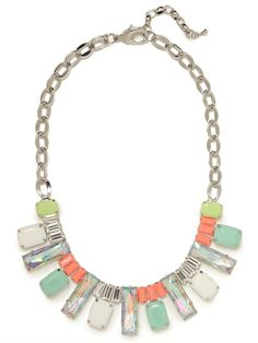 Tropical Gem Bib - Necklaces - Categories - Shop Jewelry | BaubleBar