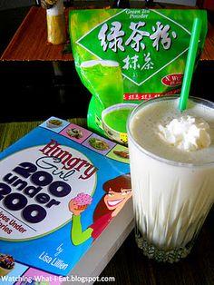 Green Tea Swappuccino ~ Hungry Girl