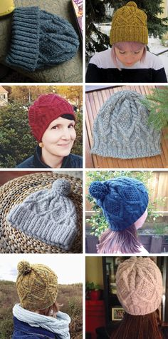 FO Sightings: Skiff hats of the #fringeandfriendsknitalong - gorros de lana