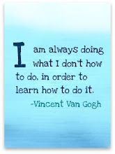 I am always doing what I don't know how to do, in order to learn how to do it. - Vincent Van Gogh