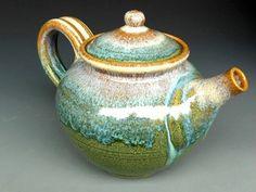 Teapot. Handmade Pottery.