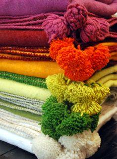 Honoré Décoration - Textile - Couverture couronne plaid
