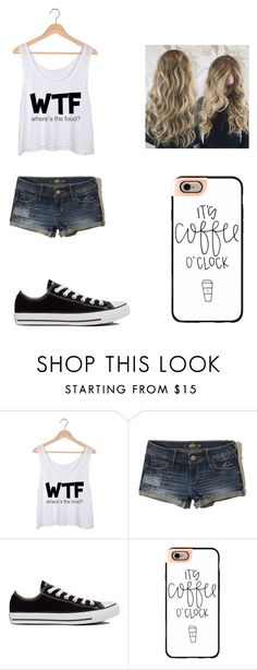 """Untitled #497"" by jessica-smith-xxv ❤ liked on Polyvore featuring Hollister Co., Converse and Casetify"