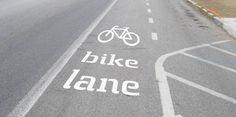 Para cuando llegue a #Madrid el carril bici, ya tenemos #tipografia asociada...