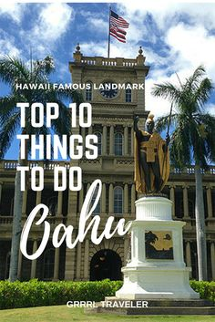 Trip planning for Oahu can feel overwhelming. There's many things to do on Oahu and popular Hawaii famous landmarks from amazing beaches, hopping nightlife