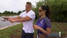 Nikki Bella and John Cena Total Divas Season 1 Episode 1 Welcome To The WWE