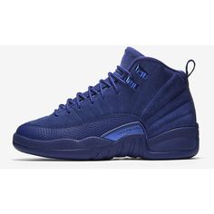 Air Jordan Retro 12 (3.5y-7y) Big Kids' Shoe . Nike.com ($140) ❤ liked on Polyvore featuring shoes and jordans