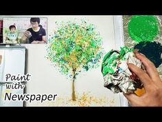 Bath Sponge Painting Techniques   Basic Easy Painting Idea - YouTube