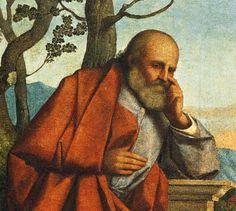 Leonardo da Vinci as Saint Joseph