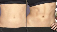 How to Contour Your Abs: Get the illusion of washboard abs with this body contouring trick.