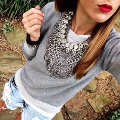 glam + casual
