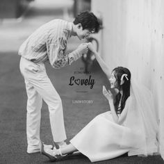 """View photos in 2019 New Sample """"Lovely"""". Pre-Wedding photoshoot by ST Jungwoo, wedding photographer in Seoul, Korea. Korean Wedding Photography, Couple Photography, Photography Ideas, Wedding Story, Dream Wedding, Pre Wedding Photoshoot, Wedding Posing, Wedding Advice, Wedding Styles"""