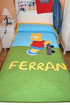 C9lcha de cama para Ferran