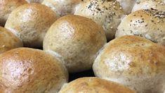 Pan Relleno, Bread Recipes, Hamburger, Food, Vegetarian, Beer Batter, Dulce De Leche, Breads, Beverages