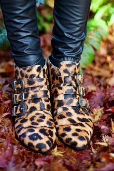 Leather Trousers and Leopard Print, over 40 | What a Cliché!