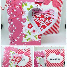 Valentines Food, Be My Valentine, Flip Cards, Gift Wrapping, Gifts, Etsy, Paper Wrapping, Presents, Wrapping Gifts
