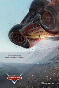 'Cars 3': Rayo McQueen regresa en el primer póster de la tercera entrega    La nueva película de la saga dirigida por Brian Fee se estrena el 13 de julio de 2017.   El 13de julio de 2017 regresa a la gran panta... http://sientemendoza.com/2016/11/29/cars-3-rayo-mcqueen-regresa-en-el-primer-poster-de-la-tercera-entrega/