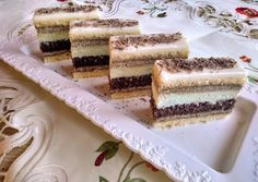 Cake Recipes, Dessert Recipes, Tiramisu, Food And Drink, Sweets, Cookies, Ethnic Recipes, Bakken, Crack Crackers
