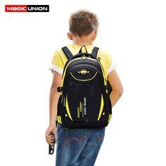 Magic union 높은 품질의 학교 가방 소년 소녀 어린이 백팩 초등학교 학생 배낭 방수 학교 가방 책 가방