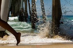 Hermosa Pier  #california #southbay #hermosapier #lifestyle #beach #waves #spring   www.daniraible.com