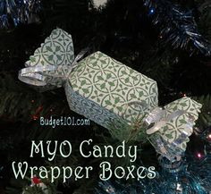 Homemade Candy Box Wrapper Template