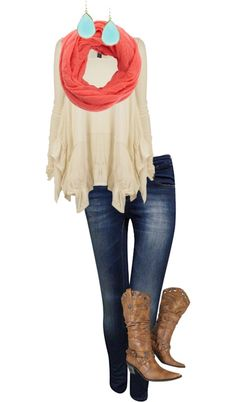 Love the scarf!!