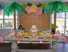 Kimberly's Moana Party  - Moana