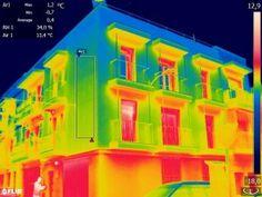 6-11-2013. #proyectoprei.Termografía de edificio terminado y de suelo radiante #Ebuilding
