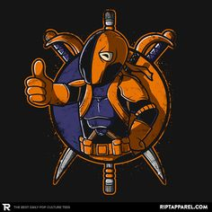 Death Boy T-Shirt - Deathstroke T-Shirt is $11 today at Ript!