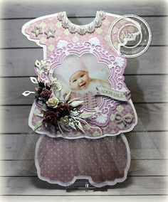 "Ineke""s Creations Stencil Diy, Baby Cards, Box, New Baby Products, Flower Girl Dresses, Paper Crafts, Scrapbook, Crafty, Projects"