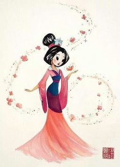 Mulan fanart ♥ | We Heart It