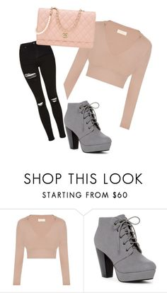 """""""Untitled #34"""" by misstype ❤ liked on Polyvore featuring Chanel"""
