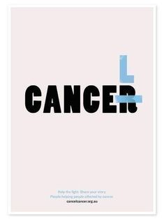Cancel the Cancer  #poster #cancer #creative