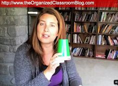 Art Use green, yellow, and red colored cups for group work.  When a table gets too loud, change the cup to yellow.  If the table continues to be too loud, the cup gets changed to red; this means a loss of group time.  Students now have to do their work independently and silently. classroom-behavior-management-ideas