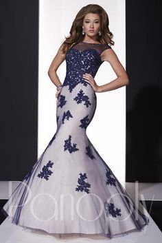 This stunning mermaid will make you feel like a queen with its illusion neckline and capped sleeves glittering with AB rhinestones and beads. The deep sweetheart neckline will flatter your bust, while the low open back will add an element of sophistication. The bodice is covered in heavily beaded lace, scattered with AB rhinestones. The body and mermaid skirt are also lavished with beaded lace detail.
