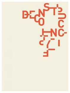Jennifer Sterling, USA  .  DEconstructing Typography, 2016