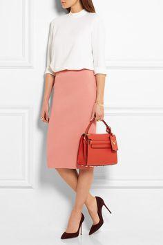 Stella McCartney | Stretch wool-blend pencil skirt | NET-A-PORTER.COM