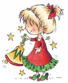 Dds3335 Daisy's Jingle Bells - Don en Daisy - Clear stamps - Hobbynu.nl