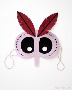 printable halloween mask