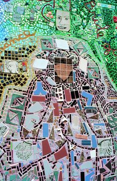Isaiah Zagar's mosaic murals and sculpture garden, featured in RV 49. http://rawvision.com/resources/isaiah-zagar